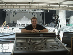 Tom Heinisch - FOH Engineer
