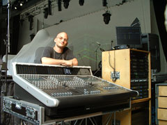 Dave Belis - Monitor Engineer